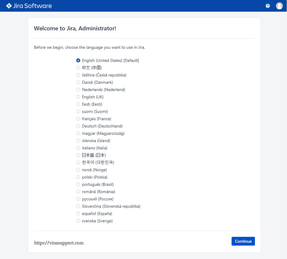 Cai dat Jira Software Tren Linux Server - Buoc 15