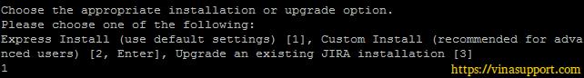 Cai dat Jira Software Tren Linux Server - Buoc 2