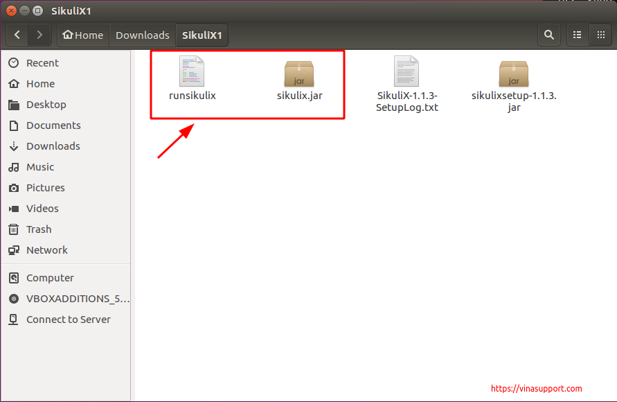 Cai Dat SikuliX1 Tren Ubuntu Step 7
