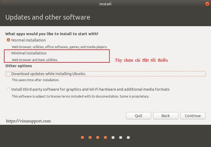 Ubuntu 18.04 Minimal Installation