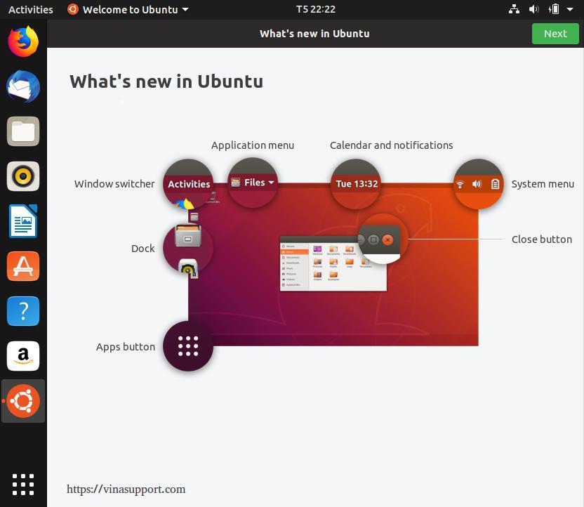 Hướng dẫn cài đặt HDH Ubuntu 18.10 bước 11