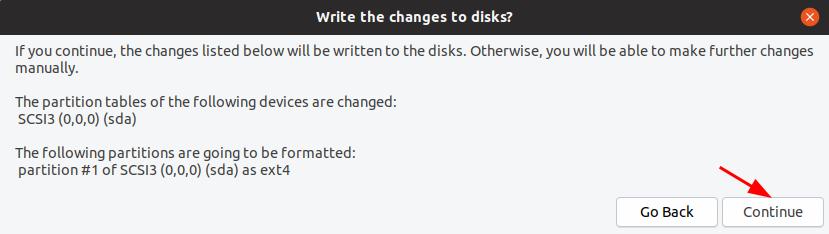 Hướng dẫn cài đặt HDH Ubuntu 18.10 bước 5