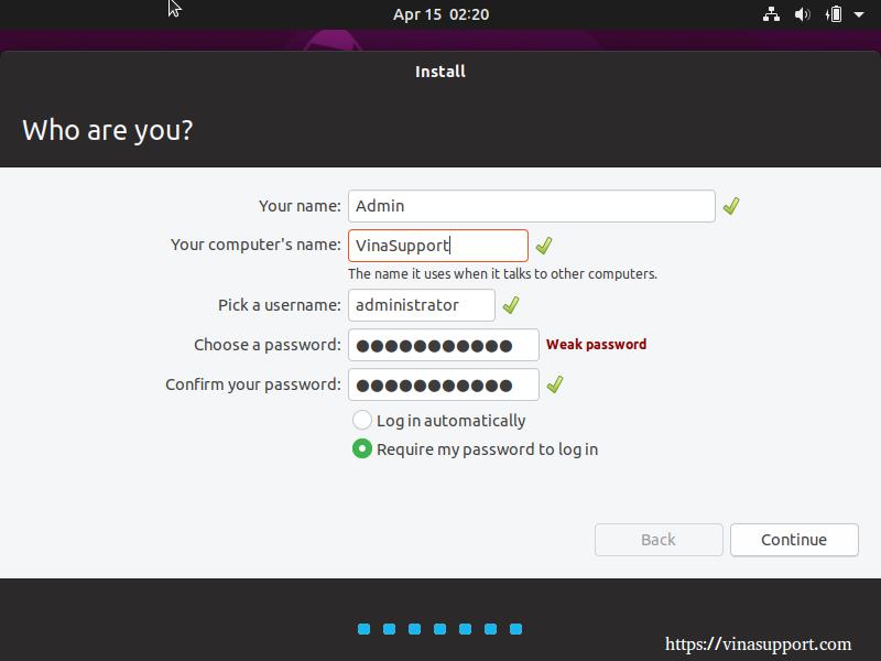 Huong dan cai dat HDH Ubuntu 19.04 Desktop buoc 7
