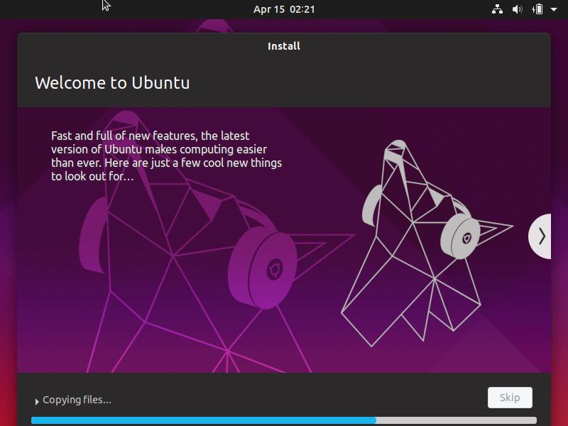 Huong dan cai dat HDH Ubuntu 19.04 Desktop buoc 8