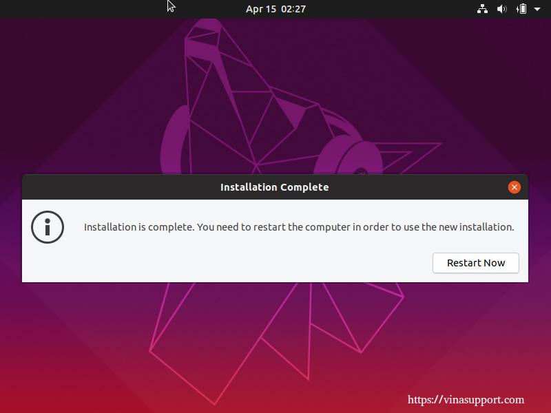 Huong dan cai dat HDH Ubuntu 19.04 Desktop buoc 9