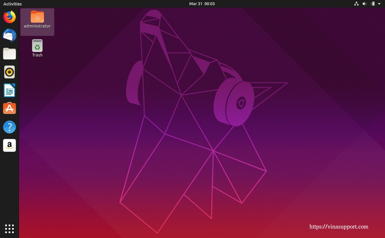Yaru Desktop Theme 1