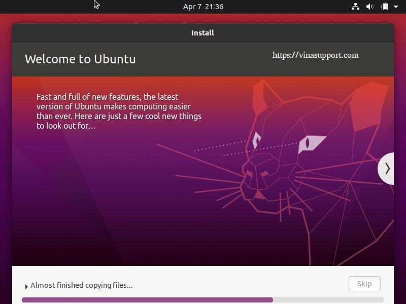 Cai dat HDH Ubuntu 20.04 - Buoc 10