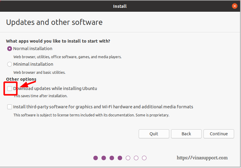 Cai dat HDH Ubuntu 20.04 - Buoc 4