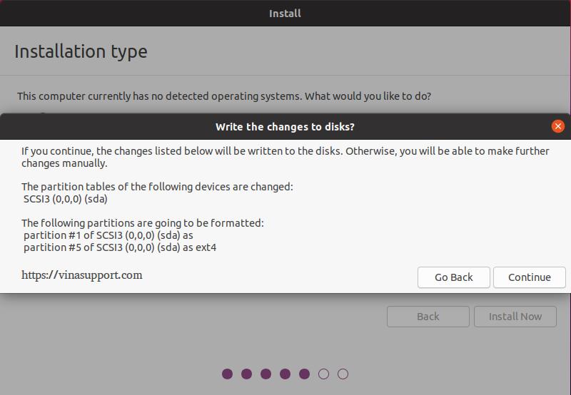 Cai dat HDH Ubuntu 20.04 - Buoc 7