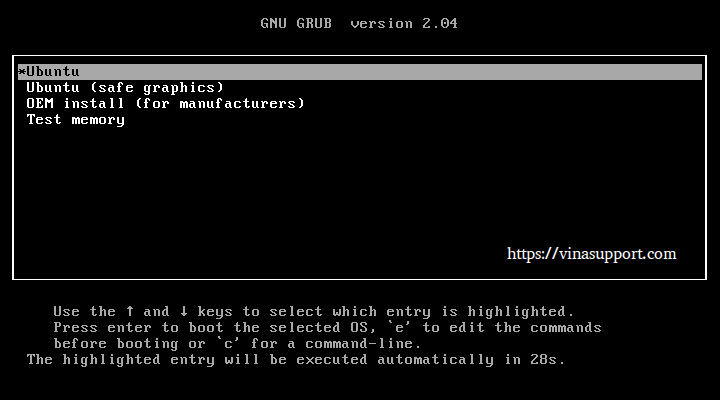 Huong dan cai dat Ubuntu 20.10 Buoc 1