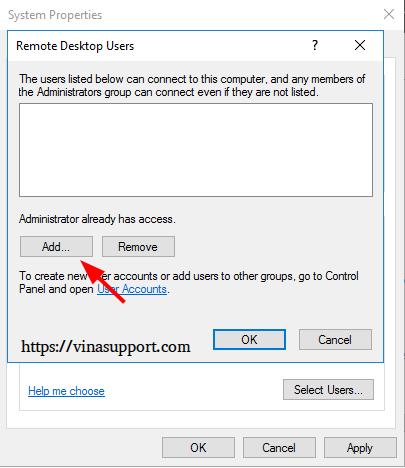 Bat dich vu Remote Desktop tren Windows - Buoc 4