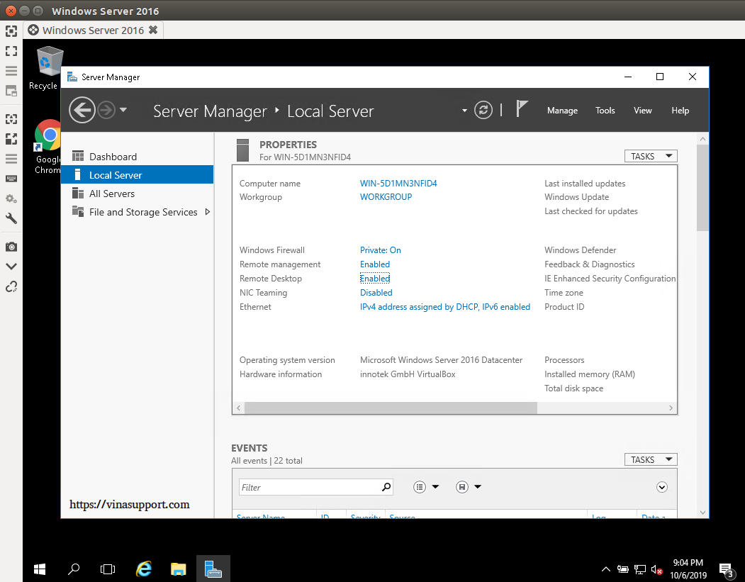 Bat dich vu Remote Desktop tren Windows - Buoc 8