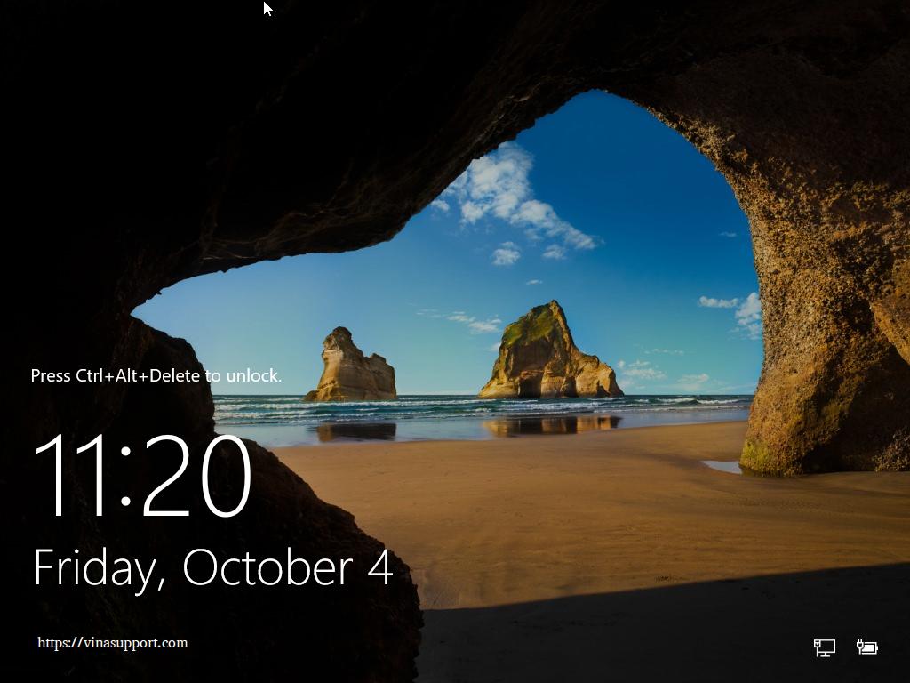 Huong dan cai dat Windows Server 2016 - Buoc 11