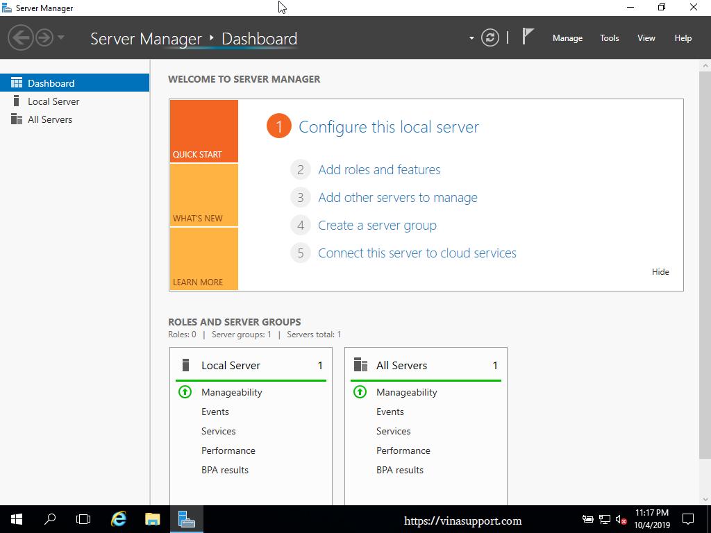Huong dan cai dat Windows Server 2016 - Buoc 13