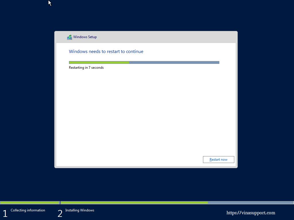 Huong dan cai dat Windows Server 2016 - Buoc 9