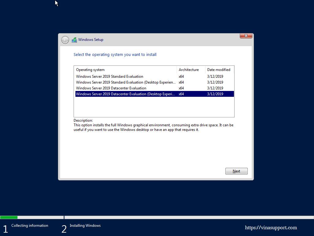 Cai Dat Windows Server 2019 Datacenter - Buoc 4