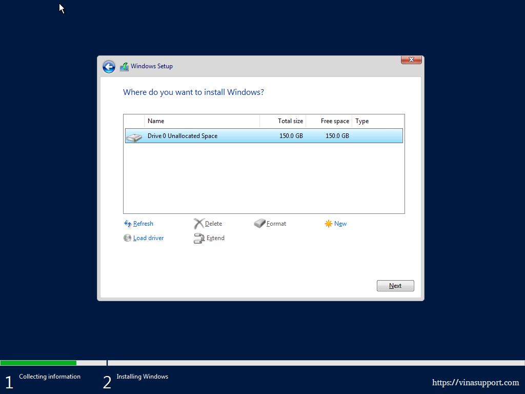 Cai Dat Windows Server 2019 Datacenter - Buoc 7