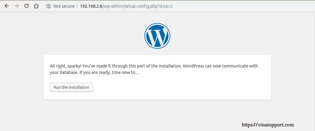 Cai dat va cau hinh WordPress buoc 4
