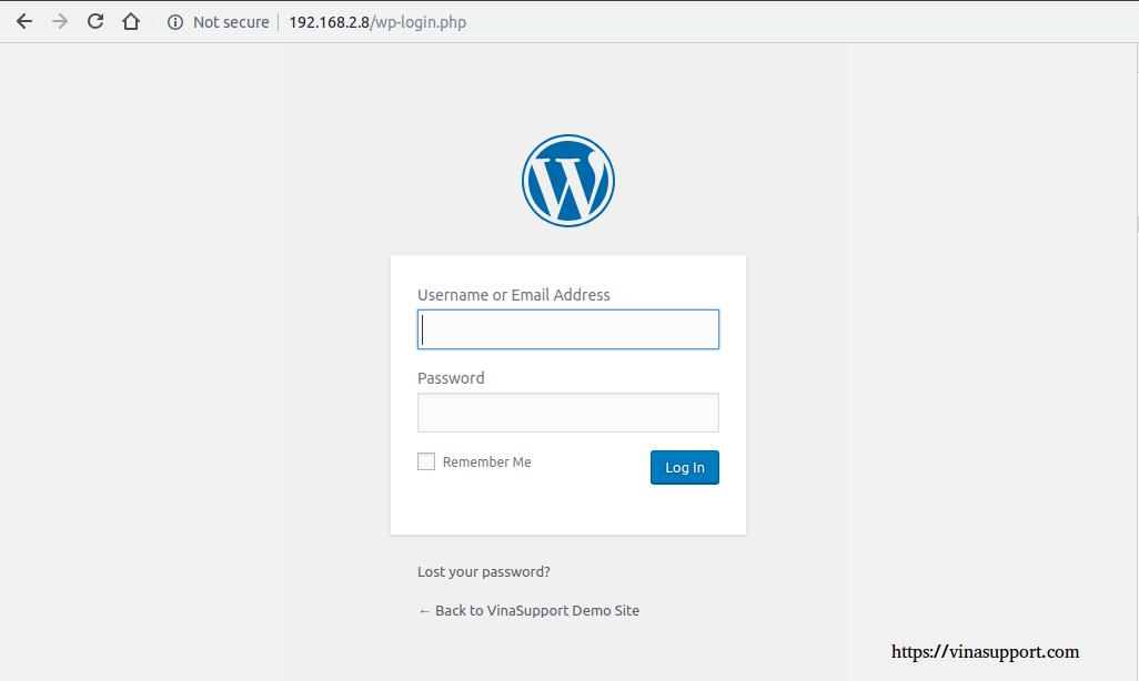Cai dat va cau hinh WordPress buoc 7