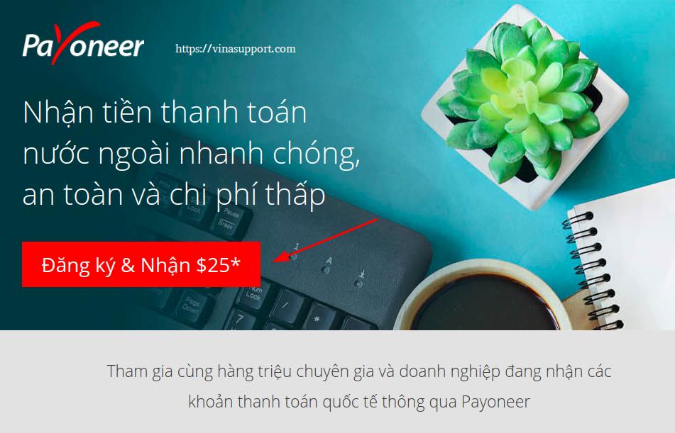 Huong dan dang ky Payoneer buoc 1